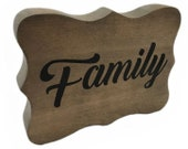 Family Topper - Family Photo Tree - for the Birch Branch Card & Photo Tree Stand