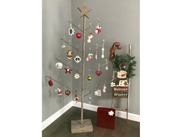 Holiday Ornament Stand - The Birch Branch Card & Photo Tree
