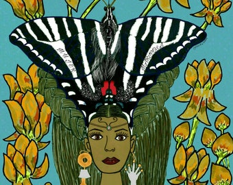 The Woman Butterfly