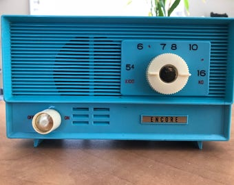 1960s Encore Tube Radio w/ Bluetooth