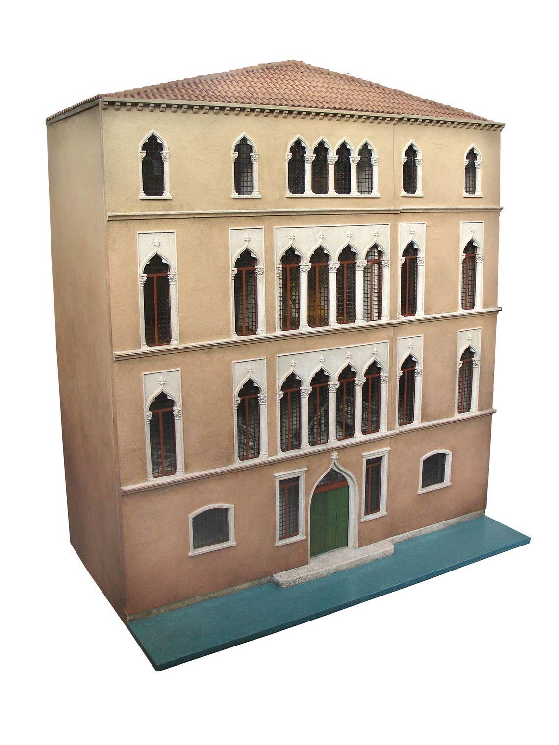 Venetian Palazzo Miniature dolls house 1/12th scale image 0