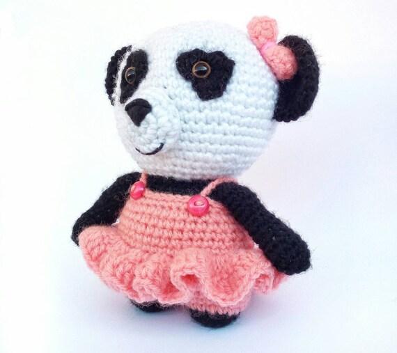 Oso panda kawaii amigurumi paso a paso en video tutorial ... | 507x570
