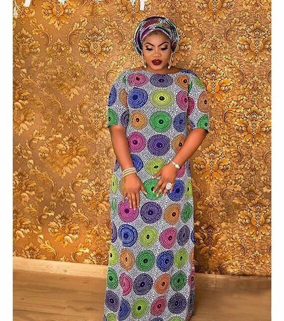 African maxi gown /Ankara Print /african long dress/women | Etsy