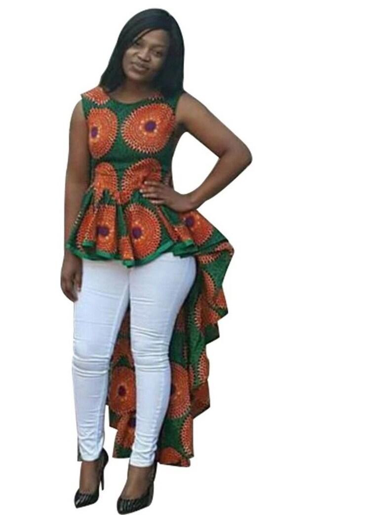 03718771eb5a African flared top Ankara dress  african dress african