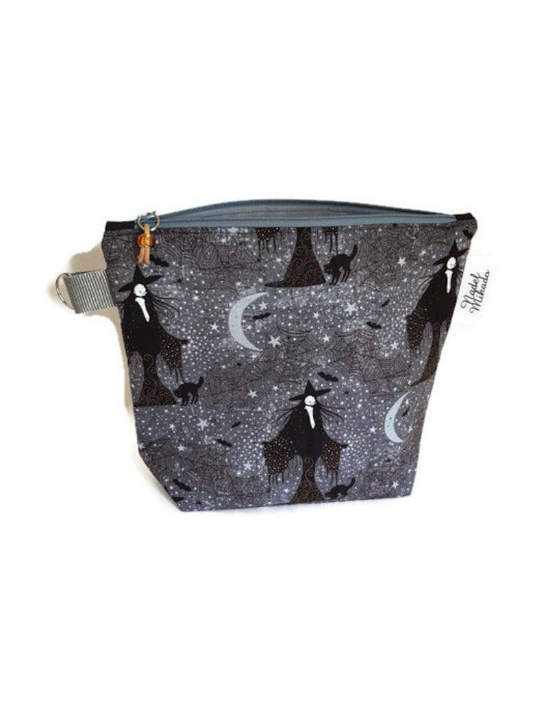 bag for knitting storage bag sock bag Project Bag size s knitting bag sock bag Craft bag Project Bag knitted bag