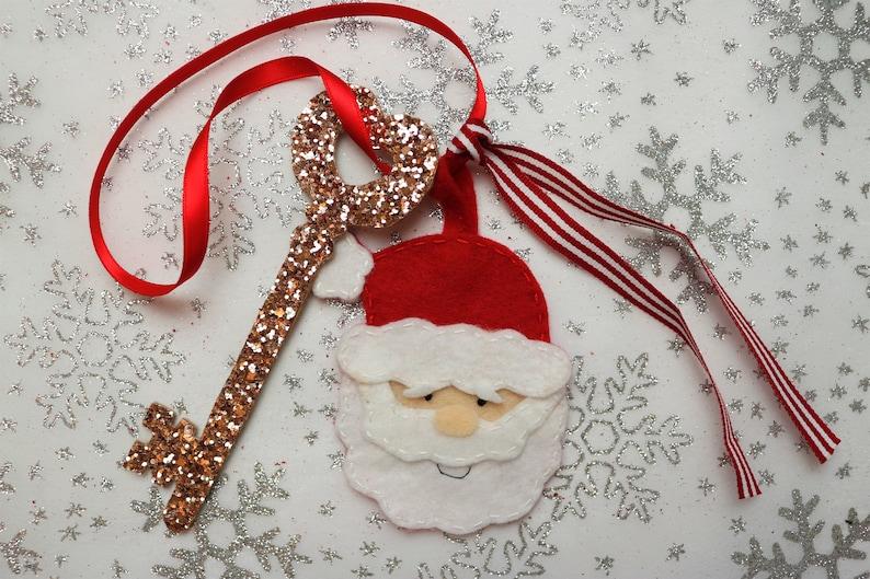 Christmas eve box filler Christmas box Magic Santa Key Santa/'s magic key Christmas keepsake Secret Santa Father Christmas key