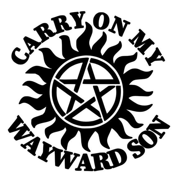 Kansas decal sticker Carry On My Wayward Son any color vinyl