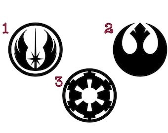 Star Wars Symbols Decal Galactic Republic Rebel Alliance Galactic Empire
