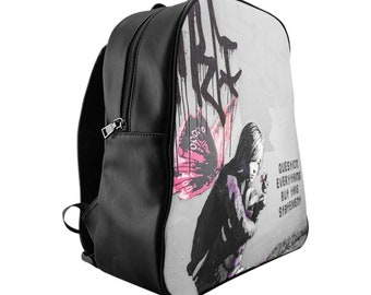e47047eab7e Question Everything But This Statement Backpack