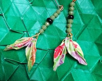 wing Origami   Earrings