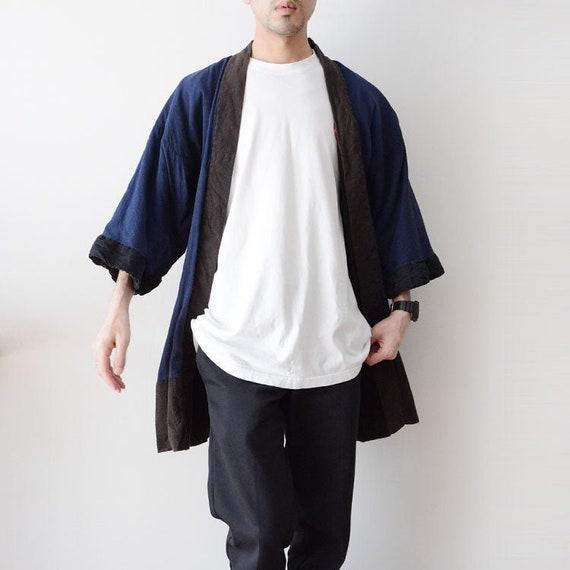 noragi jacket japan vintage antique kimono 40s 50s