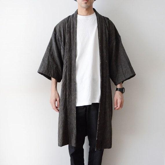 noragi jacket haori kimono japan vintage indigo st