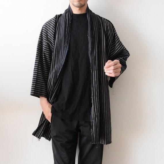 Noragi Jacket Men Japanese Vintage Kimono Hodoki 3