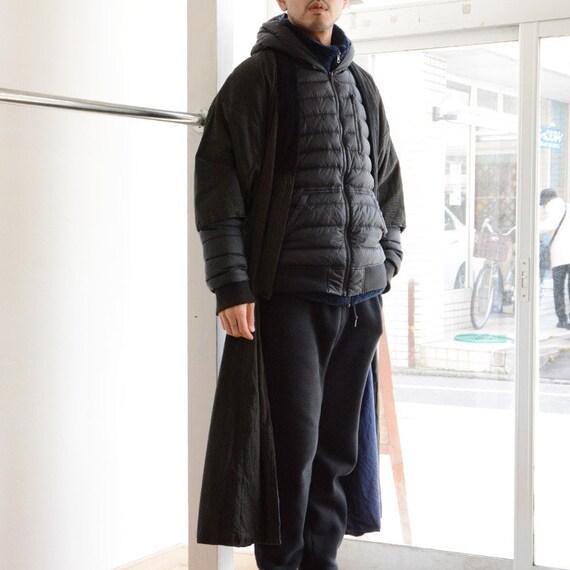 kimono coat japan vintage stripe 50s antique men