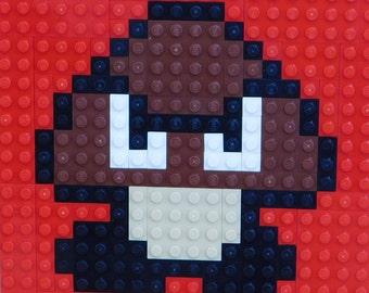 Goomba LEGO Plate