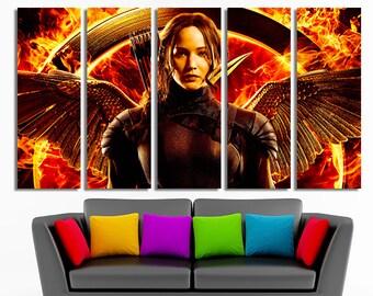 The Hunger Games Hunger Games art Hunger Games canvas Mockingjay canvas Mockingjay photo Mockingjay print Mockingjay poster Mockingjay art