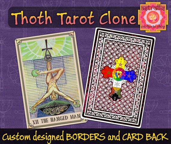 Thoth Tarot Clone | Printable tarot | Aleister Crowley | Thoth Tarot cards |