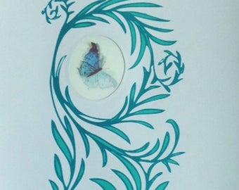 Animated Butterflies Print (M)
