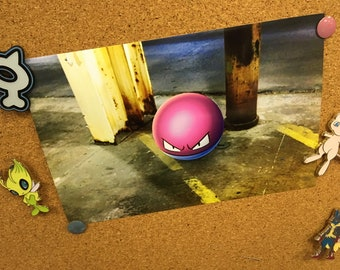 Voltorb Pokemon GO Photography Print