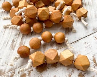 Montessori Grasping Beads - Infant Rattle - Montessori Baby Shower Gift
