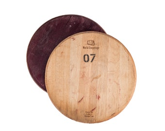 Wine Barrel Head Etsy