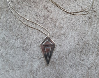 SIlver Small Kite Necklace