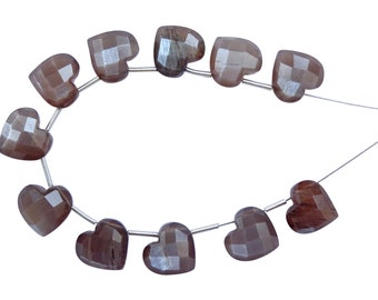 BLF41 Chocolate Moonstone Fancy Briolettes Chocolate Moonstone Flower Shaped Briolettes Chocolate Moonstone Carved Flowers