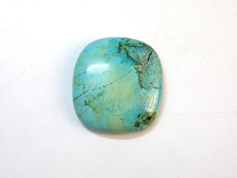 LS 226 Turquoise Cushion Shaped cab Turquoise Cushion Shaped Cabochon Turquoise  Loose Gemstone