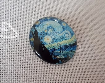 Vincent van Gogh The Starry Night needle minder for cross stitching/embroidery