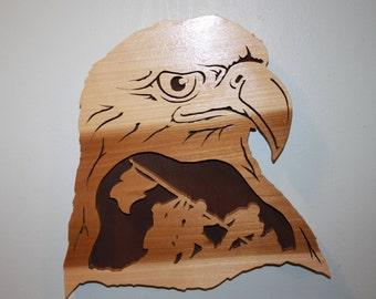 Eagle and Iwo Jima