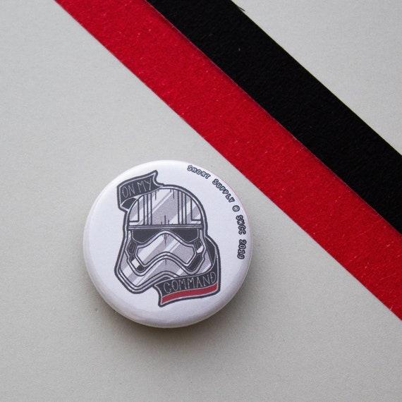 Button Badge Captain Phasma Star Wars Celebration Chicago