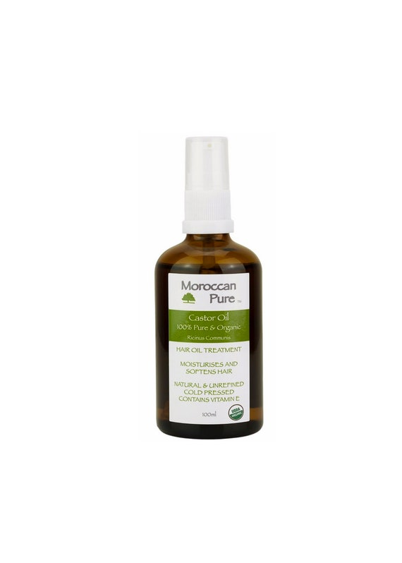Moroccan Pure 100 Natural Castor Oil Ideal For Hair Growth Etsy