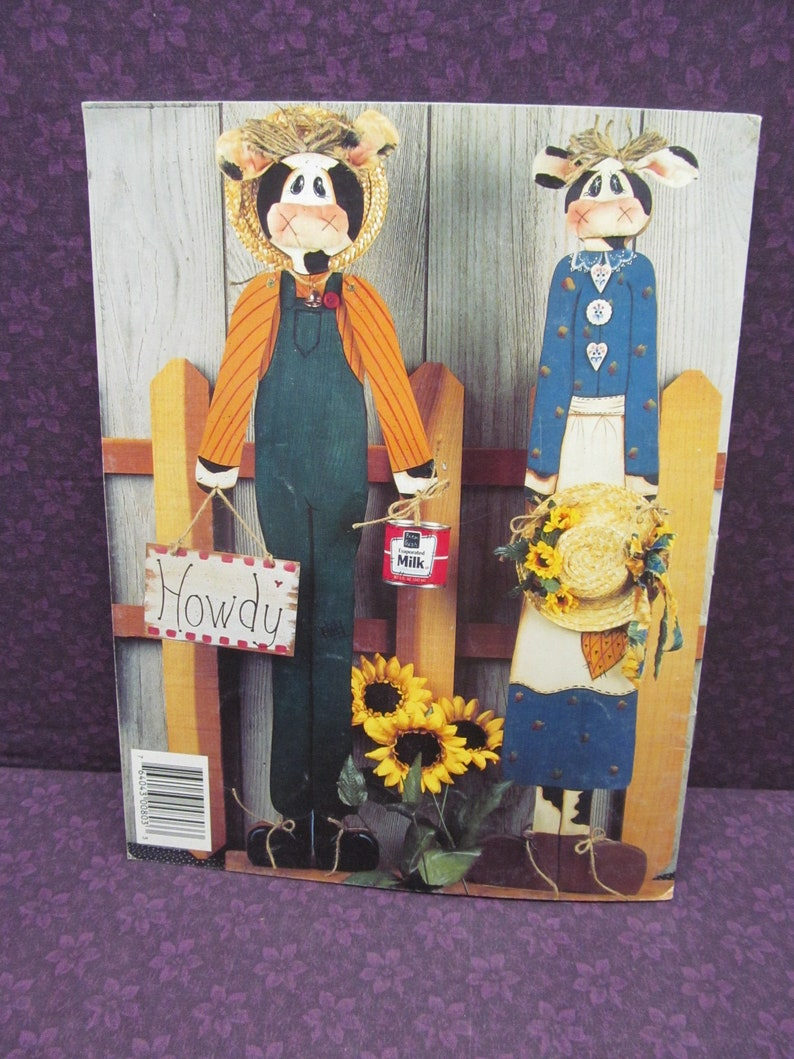Betty Bowers Tole Painting and Decorative Craft Painting Pattern Booklet Made from Scratch #00803 Down Home Skinnies