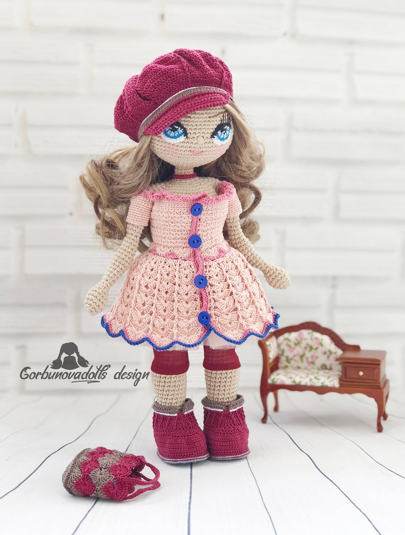 Doll Clothes - Free Crochet Pattern · The Magic Loop | 1049x794