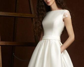 Simple wedding dress | Etsy