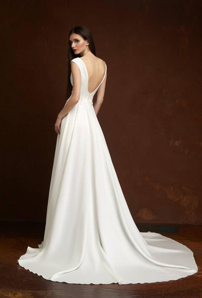 boho wedding dress ivory lace wedding dress 2018 bohemian wedding dress  rustic ... boho 5871282ae3df