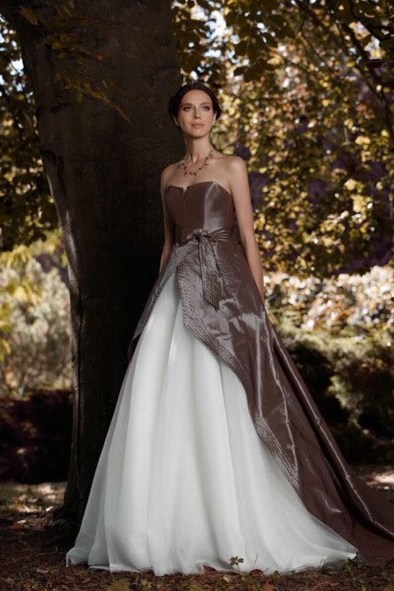 Aline Wedding Gown Tulle Boho Dress Open Corset 201: Corset Color Wedding Dresses At Websimilar.org