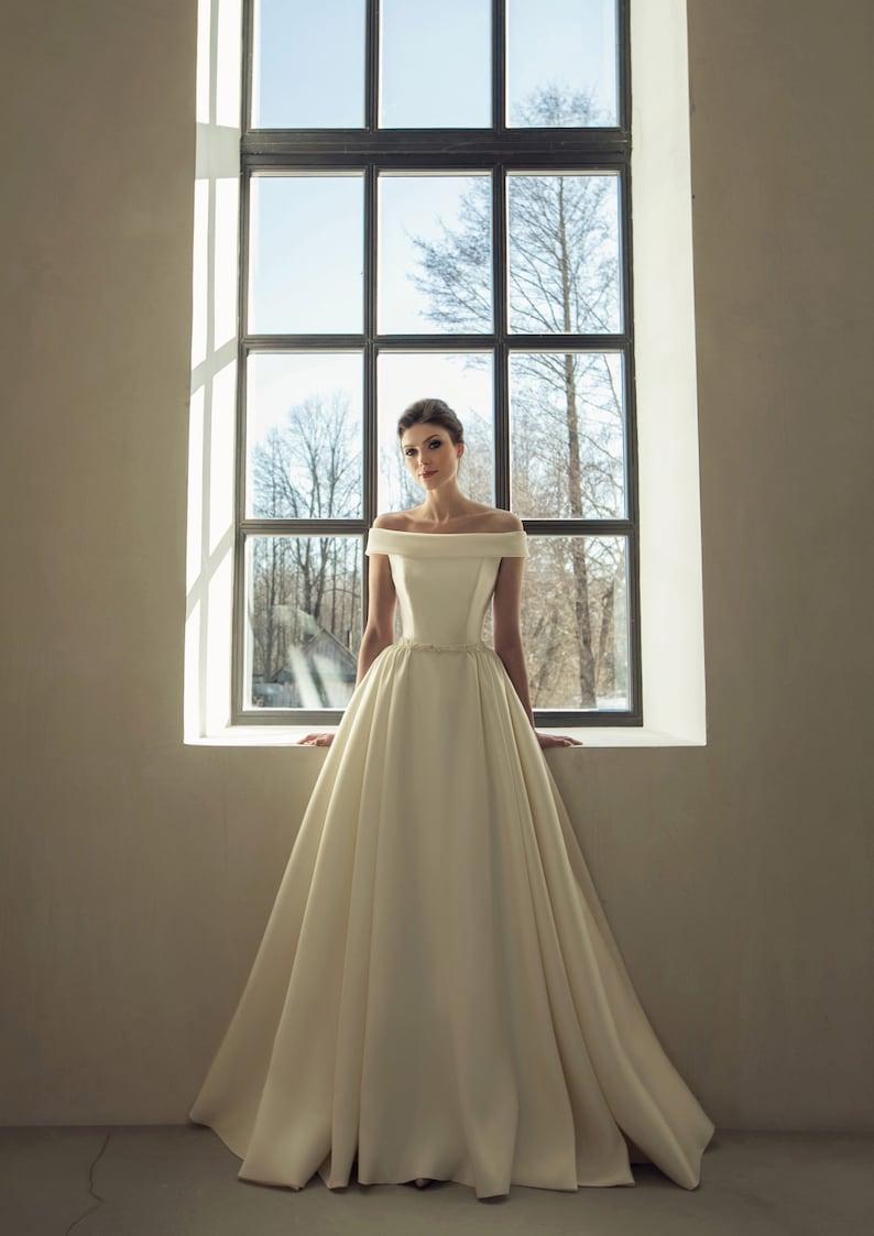 249380fb523 Mariage simple classique robe Bohème chic mariage robe boho