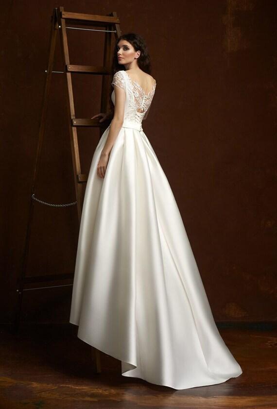 Moderne Hochzeit Kleid Moderne Hochzeit Kleid Schlicht Etsy