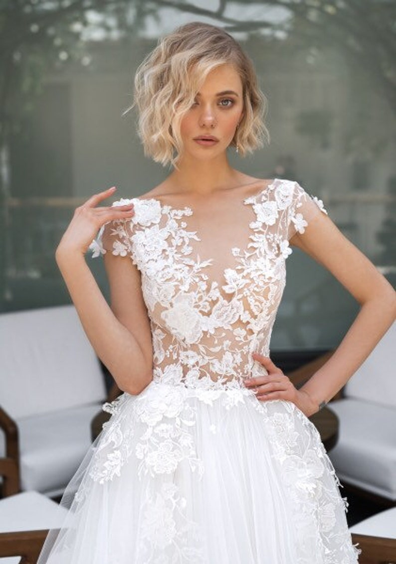 Robe mariee ivoire ou blanche