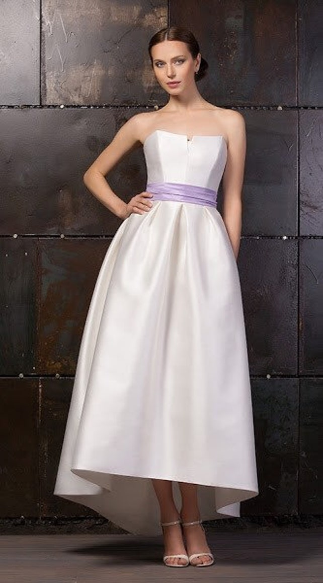 modern wedding gown modern wedding dress elegant wedding | Etsy