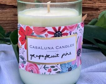 Grapefruit Pine Handmade Soy Candle
