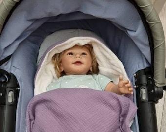 Baby badcape set