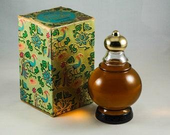 AVON BIRD of PARADISE Vintage Cologne Bottle & Box 4 Fl. Oz. (1965) - Sealed