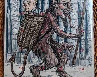 BADvent Calendar: A Krampus and Creepy Christmas Creatures Advent Countdown