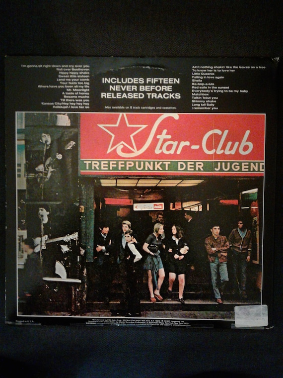 Lp the beatles live at the star club in hamburg germany 1962 | Live