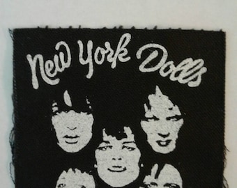 New York Dolls Patch ~ 1990s ~ Never used