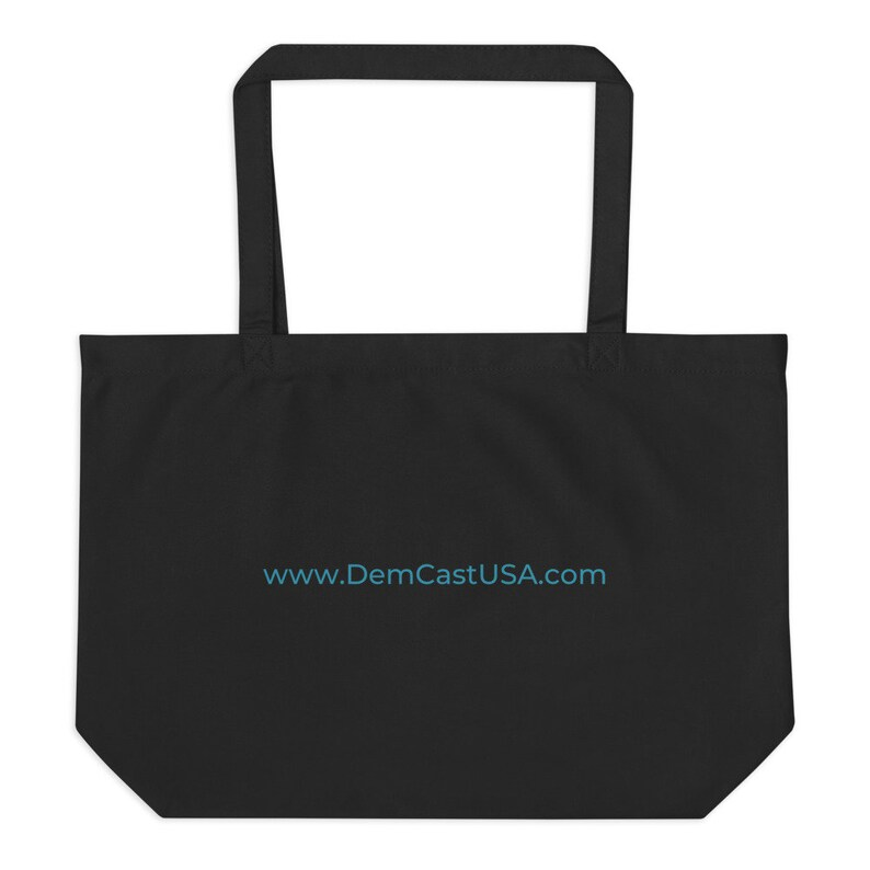 DemCast Large organic tote bag