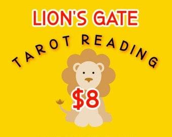Lion's Gate Tarot Reading