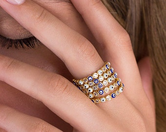 Evil eye ring  15e9b4fbe98f